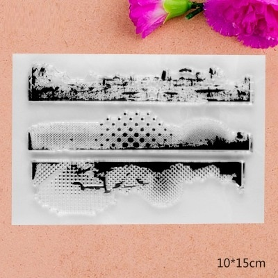 2017 brand new  Scrapbook DIY Photo Album Account Transparent Silicone Rubber Clear Stamps 10x15cm Background scrapbook diy photo album account transparent silicone rubber clear stamps 20x28 5cm big size wedding