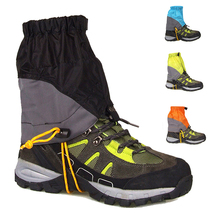 1752e9f37b7201 Winter laufschuhe Männer Frauen Outdoor Trail Running Gamaschen Verhindern  Sand Wasserdicht Wandern Klettern Bein Ski Gamaschen