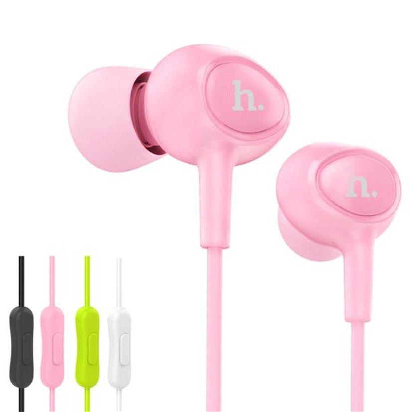 Factory price Hot Good Quality HOCO M3 Universal 10mm Stereo In-ear Earphone Headphone with Mic for Cellphone