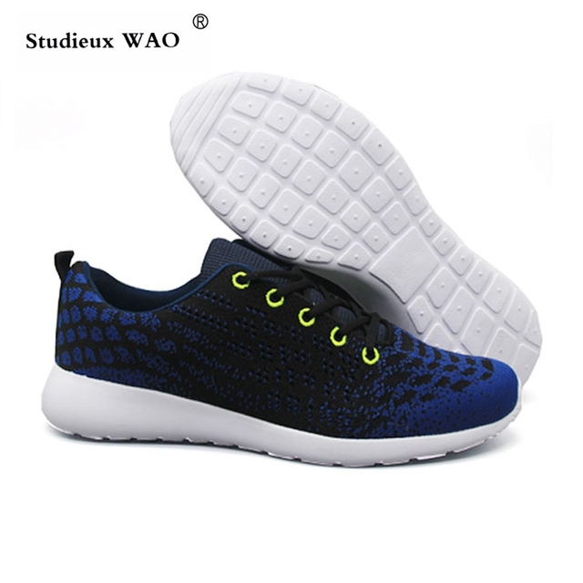 2019 New Summer Shoes Men Running Sneakers Original Comfortable Sports Runing Trekking Jogging Shoes Light Breathable Mesh Shoes