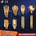 40 w lampada ampola bulbo edison vindima e27 bombillas retro lâmpada incandescente edison luminárias lâmpada led luzes de fadas