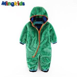 Image 2 - UmkaUmka barboteuse en coquille souple pour garçons, imperméable et coupe vent, vêtements pour bébés à capuche, mi saison, meilleure vente