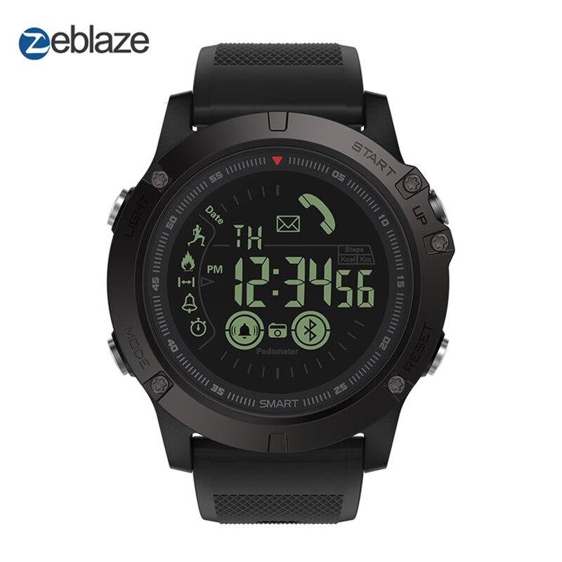 Original Zeblaze VIBE 3 Sport Smartwatch 33-monat Standby Zeit 24 h Alle-Wetter Überwachung Smart Uhr Für IOS Und Android