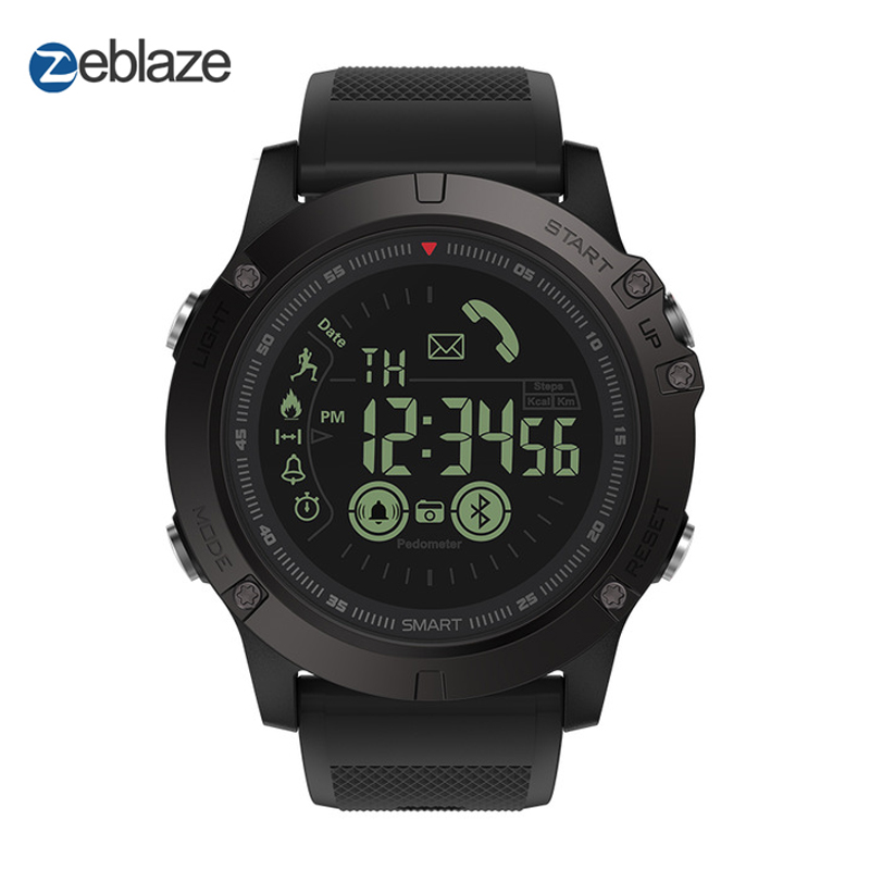 Original Zeblaze VIBE 3 deportes Smartwatch 33-Mes de tiempo de espera de 24 h-Vigilancia reloj inteligente para IOS y Android