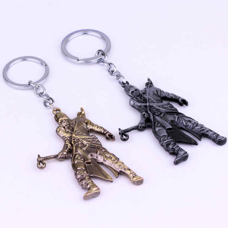 Hot Chaveiro Tomahawk Connor Modelo Chaveiro Liga de Metal Pingente jóia Acessório Cosplay Presente para Mulheres Homens