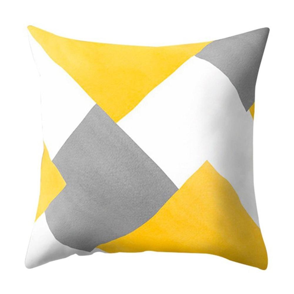 HTB1AmbvXA5E3KVjSZFCq6zuzXXaU Polyester Geometric Cushion Yellow Pineapple Pillow Decorative Cushion for Sofa DIY Printed Pillow Seat Chair Cushion