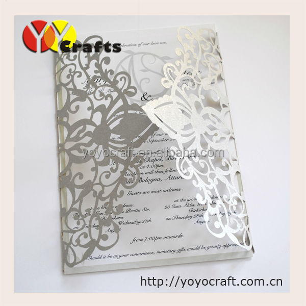 Lace flower handmade formal invitation card in cards invitations 72 72 05 stopboris Images