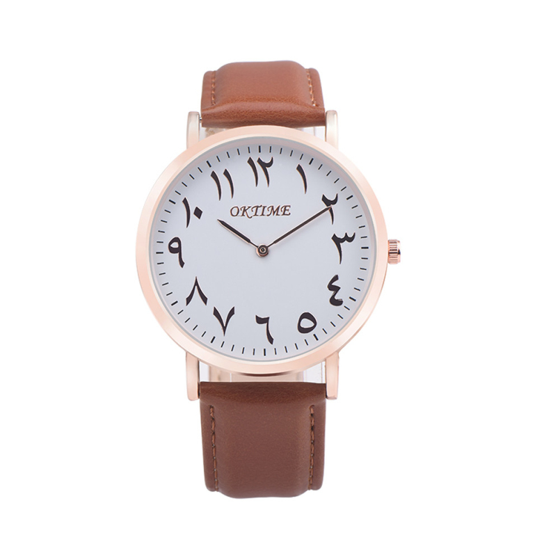 Excellent Quality Leather Brand Watches Fashion Unisex Men Women Quartz Analog Wrist Watch Relojes Relogio Feminino 0254