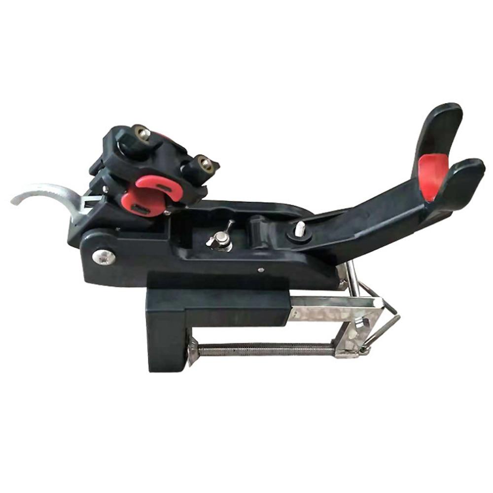 Support de canne à pêche Support de canne à pêche kayak Yacht outil de pêche Support de tige rotatif avec vis pour bateau