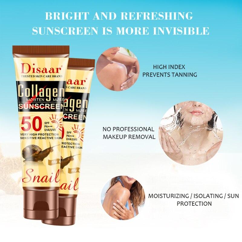 50+ солнцезащитный водостойкий солнцезащитный крем основные продукты отбеливающий изоляционный увлажняющий контроль масла крем для ухода за кожей TSLM1