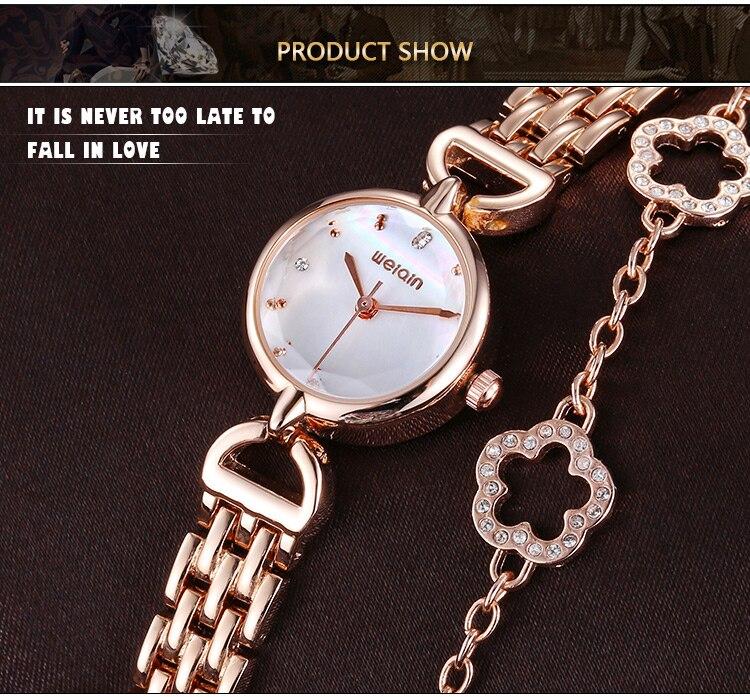 D' Água Senhoras Quartzo Pulseira Relógio de Presente Senhoras