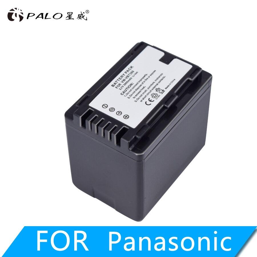 1pc 3900mAh VW-VBT380 VBT380 VW-VBT190 VBT190 battery for Panasonic HC-V110, HC-V130, HC-V160, HC-V180, HC-V201, HC-V250, HC-V26