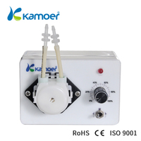 Mini peristaltic pump 24V With adjustable flow rate Micro electric Water Pump small dosing pump (L) Kamoer KCP3