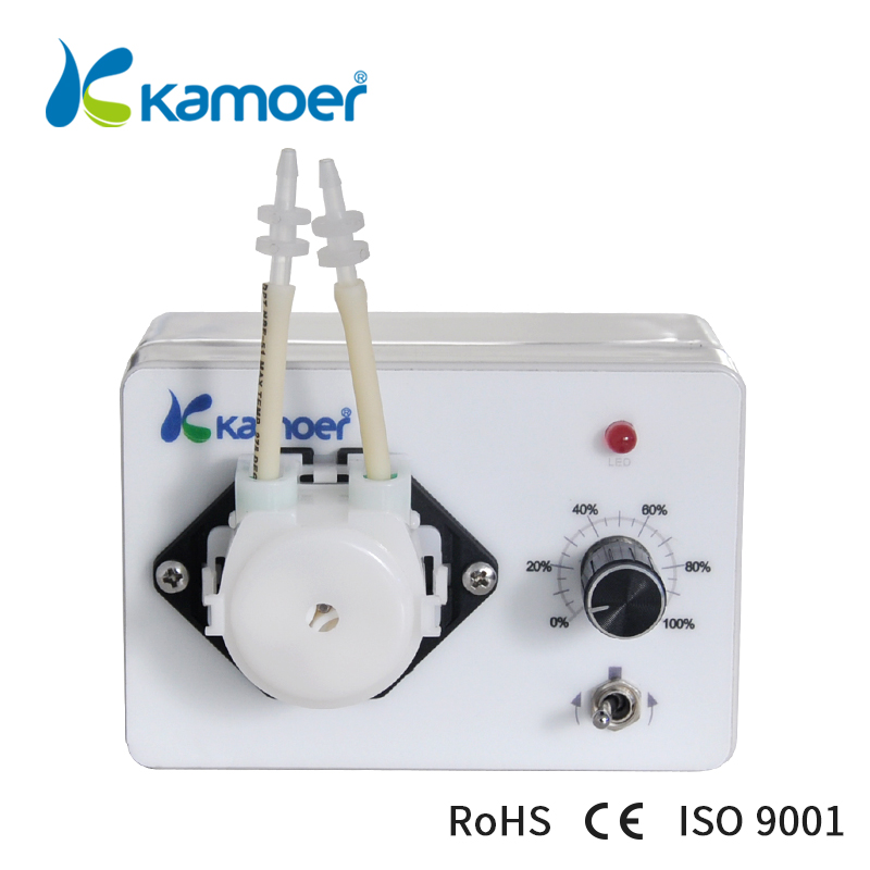 Mini peristaltic pump 24V With adjustable flow rate Micro electric Water Pump small dosing pump (L) Kamoer KCP3 kamoer kcp pro lab chemical dosing pump peristaltic pump micro water pump 24v electric pump with flow rate adjustable