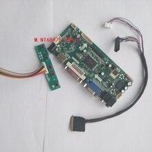 """Комплект для M101NWT2 R2 40pin LVDS Аудио карты DIY светодиодный ЖК-дисплей DVI панель 10,"""" плата контроллера HDMI VGA монитор экрана 1024X600"""