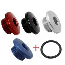 ATV TOP Crankcaseน้ำมันFILLER Plug & O แหวนBoltสกรูNUT CAP W/เครื่องซักผ้าสำหรับYamaha YFM 700 Raptor Quad quadricycleสี่ล้อ