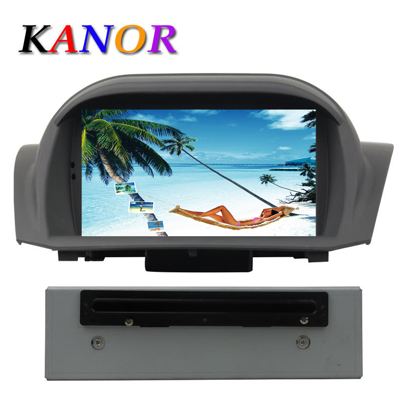 Kanor Android 5.1.1 Car DVD Player for Ford Fiesta 2011-2016 GPS Navigation with RDS Radio Casstte Car Video Player