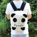1 PC 28 cm 35 cm doce dos desenhos animados shy suave panda engraçado plush mochilas jardim de infância a tiracolo Satchel menina menino presente do bebê brinquedo