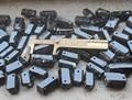 YA2236 AAA Quality Natural Black Tourmaline Pendant Bead 27-37mm