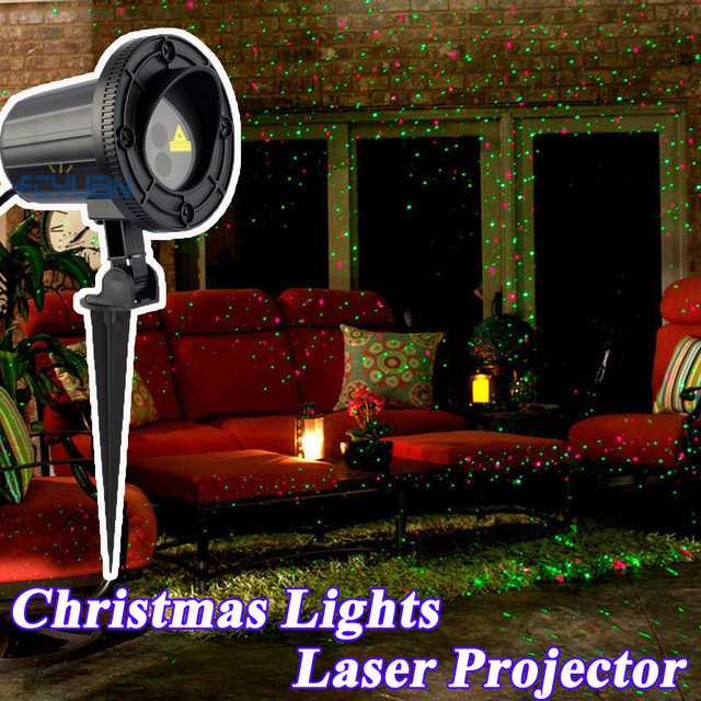 christmas lights outdoor indoor new year decoration holiday house shower laser projector - Christmas Lights Projector On House