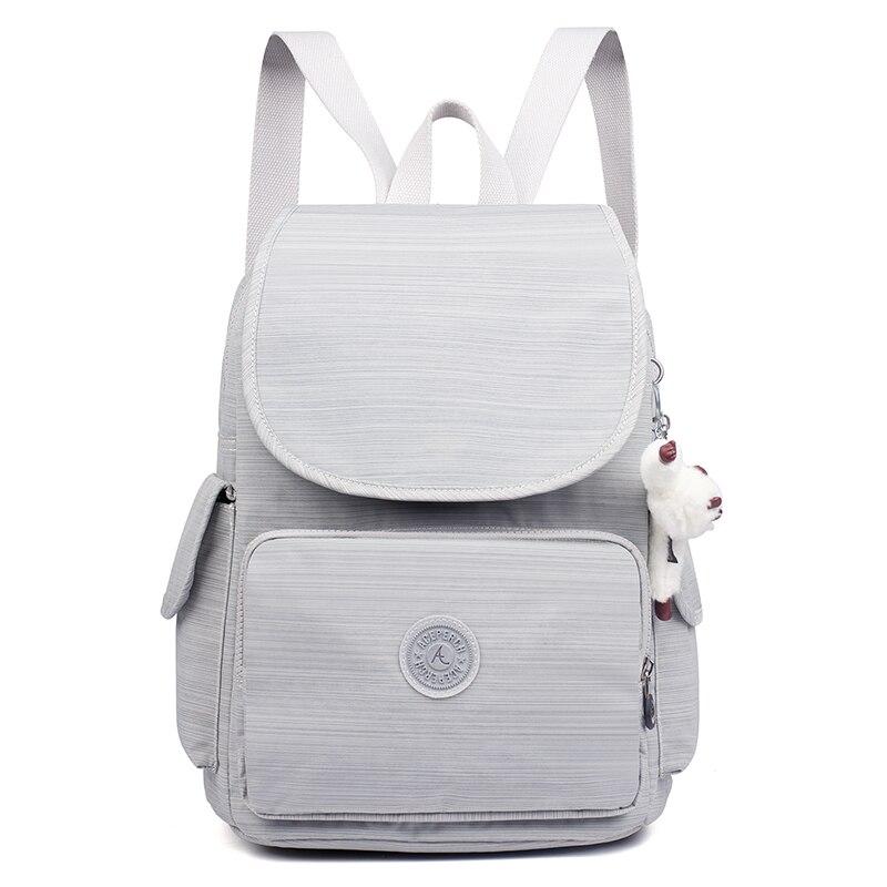 Décontracté Original femmes sacs pour femmes sacs à dos sacoche pour ordinateurs portable pour adolescentes mochila feminina avec singe porte-clés - 2