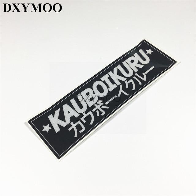 Kauboikuru Car Stickers Motorcycle Racing Vinyl Sticker Moto Gp