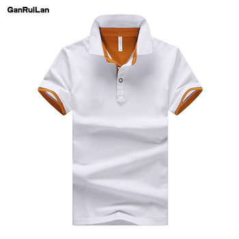 חולצת פולו גברים 3 כפתורים במגוון צבעים