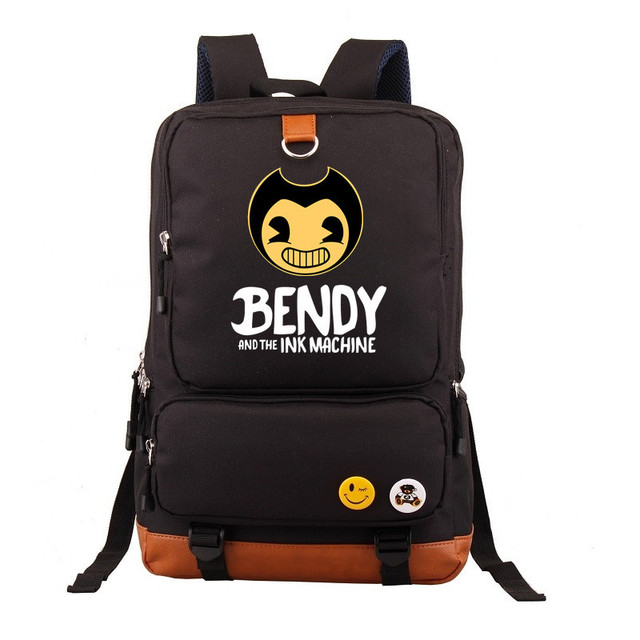 2fa49ca7df8b 2018 Bendy And The Ink Machine Backpack For Children School Bags Cartoon  Game Printing Book Backpack Daily School Backpack