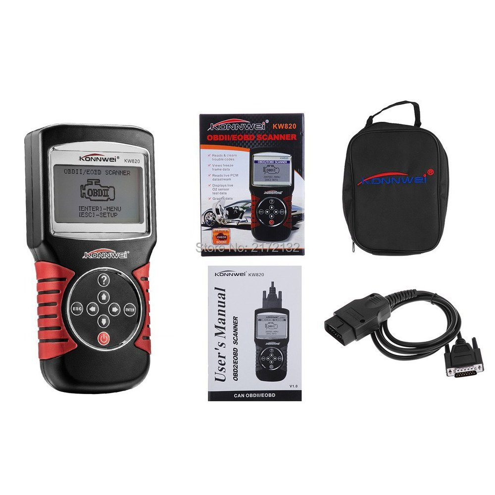 ФОТО 1pcs Free shipping newest OBDII Auto Code Reader OBD 2 scanner