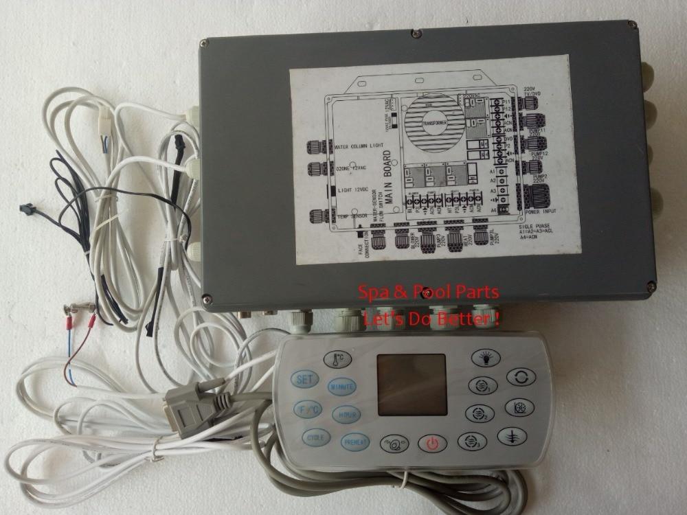 NOUS 2 phase 110 v chaude baignoire spa contrôleur bon pack Chine spa-8028 JNJ spa