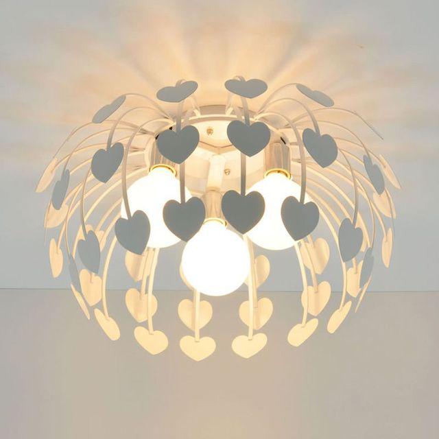 Schön 3 Lichter Eisen Herz Schlafzimmer Deckenleuchten Leuchten Esszimmer Deckenleuchten  Kinderzimmer Deckenleuchte