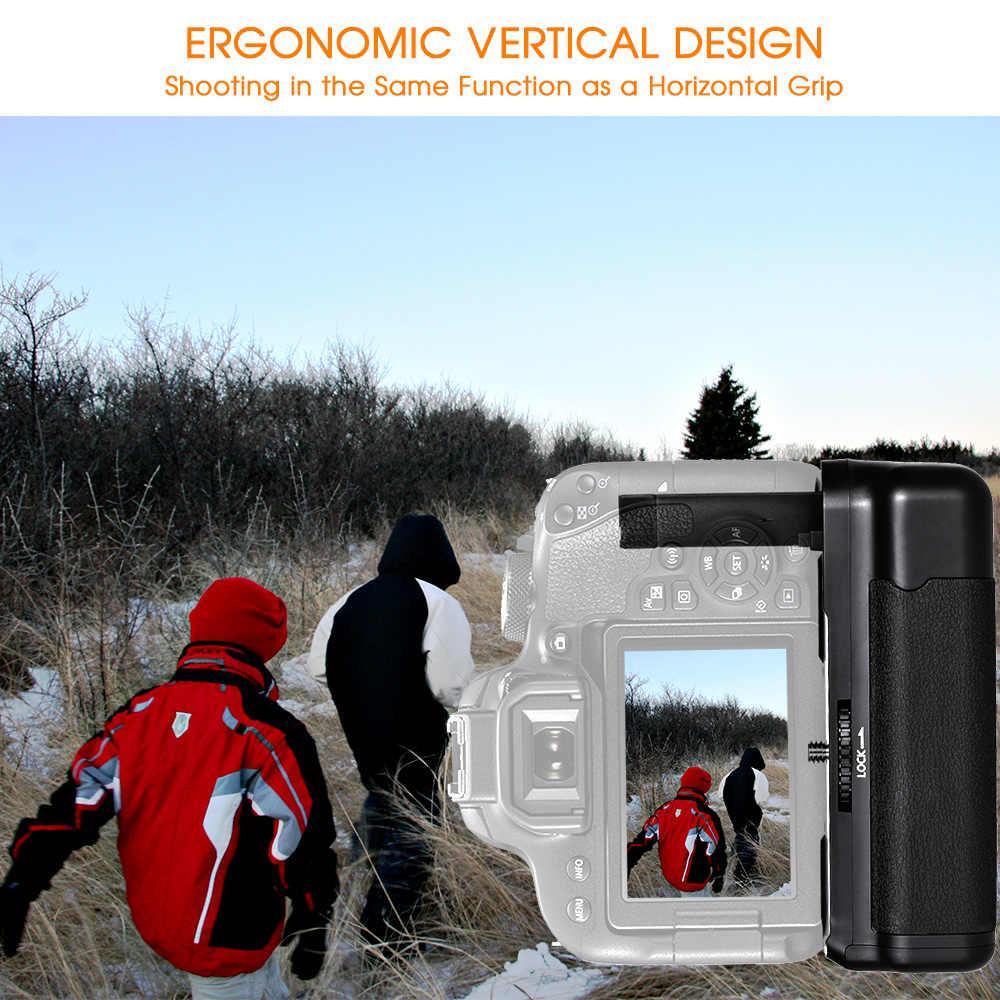 Travor Камера Вертикальная Батарейная ручка для Canon Rebel 800D 77D T7i Kiss X9i EOS аккумулятор dslr ручка работа с LP-E17