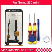 جديد الأصلي اللمس شاشة عرض LCD LCD الشاشة ل Nomu S30 البسيطة استبدال أجزاء + تفكيك أداة + 3M