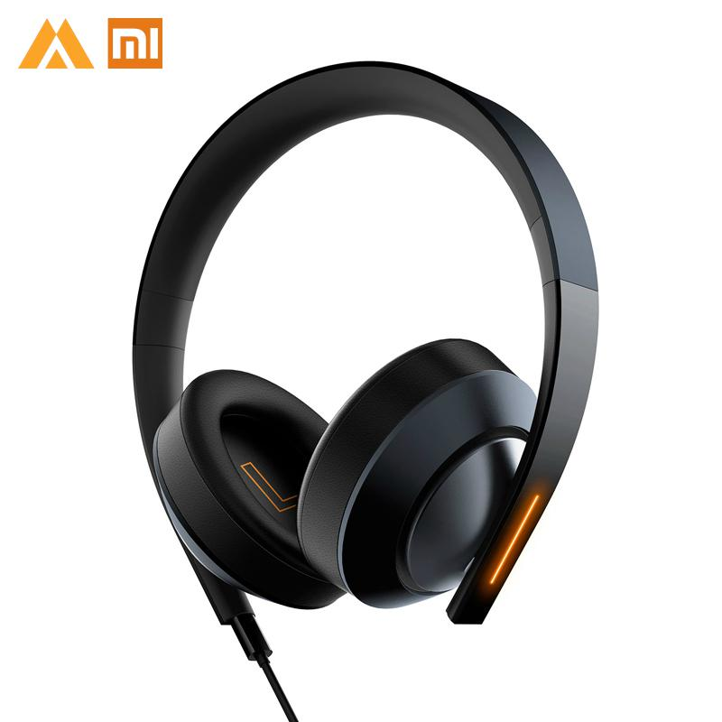 Original Xiaomi Gaming Headset 7 1 Grephene Xiomi LED Headphone With Double Mic Noise Reduction Xiami