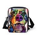 FORU Designer Messenger Bags para As Mulheres Homens Lady Sacos Crossbody, Yorkshire Terrier Bull Dog Impresso bolsa de Ombro Bolsos Mujer 2017
