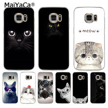 coque samsung s6 edge plus chat noir