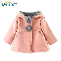 68f07a6a1 ... chaqueta invierno gruesa ropa abrigo moda sólida con capucha niños niñas  Dropshipping De5. LONSANT Coat Baby Girl Winter Jacket Thick Warm Clothes  ...