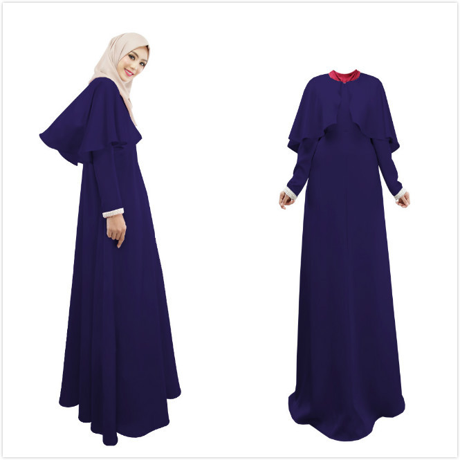 Denim long dress malaysia