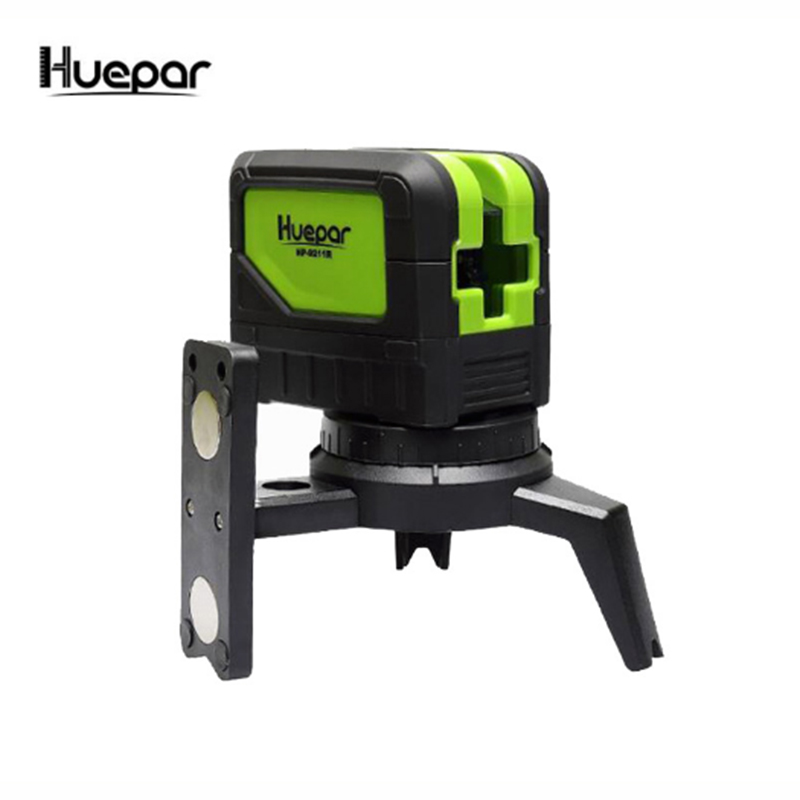 MINI Huepar 2 Lines Green Laser Level Self Leveling Cross Laser Line portable Green Laser Level Free shipping Huepar Brand 9211G цены