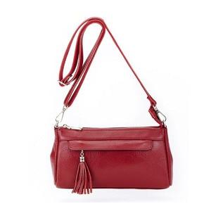 Image 5 - fashion women shouler bag genuine leather handbag female casual small crossbody bags cowhide leather bags