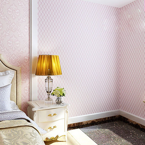 Chinese Modern Pink Wallpaper Roll Pink Mosaic Girl Room Wallpaper Papel De Parede Pvc Green 3d Striped Wallpaper For Walls 3 D plaint slender striped pvc wallpaper pearly lustre finish for all modern match papel de parede waterproof