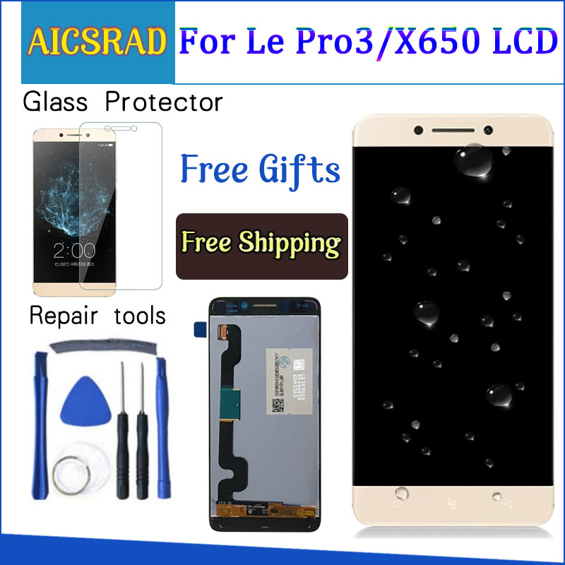 Display Für LeTV LeEco Le Pro 3X650 LCD Touch Screen Leeco X651 X656 X658 X659 Digitizer Ersatz Teile 5,5 ''1920x1080