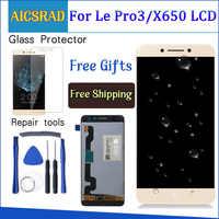 Display Per LeTV LeEco Le Pro 3X650 LCD Touch Screen Leeco X651 X656 X658 X659 Digitizer Parti di Ricambio 5.5 ''1920x1080