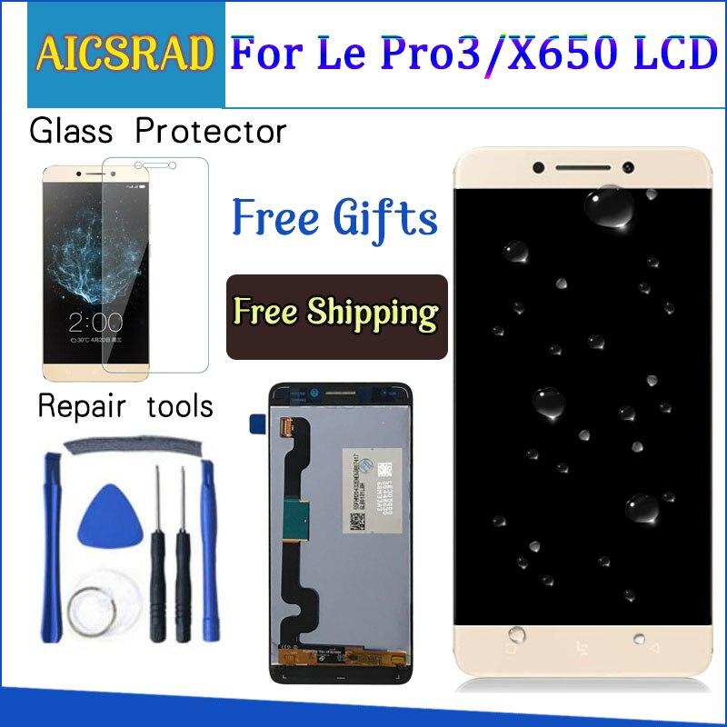 Ecran pour LeTV LeEco Le Pro 3X650 LCD ecran tactile Leeco X651 X656 X658 X659 pièces de rechange numériseur 5.5 ''1920x1080