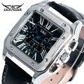 Moda Especial Reloj de Pulsera Mecánico Casual Deportes Relojes Hombres hombres Boy Horas de Negocios Mejor Regalo de Navidad de Cumpleaños