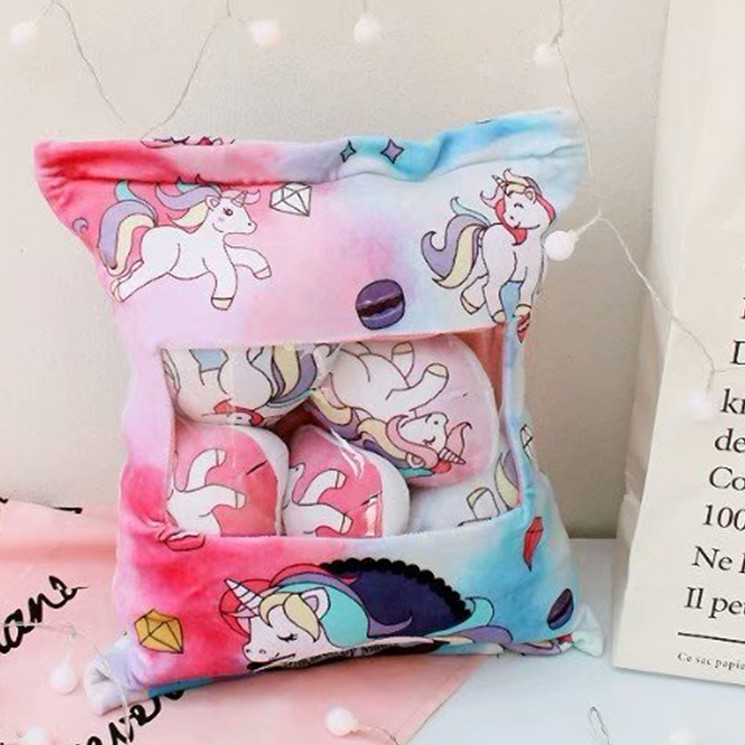 candice guo! super cute plush toy lovely cartoon colorful unicorn one bag soft stuffed cushion girls birthday Christmas gift 1pc candice guo nici plush toy stuffed doll cute cartoon animal little fairy ayumi be you girl theme bedtime story birthday gift 1pc