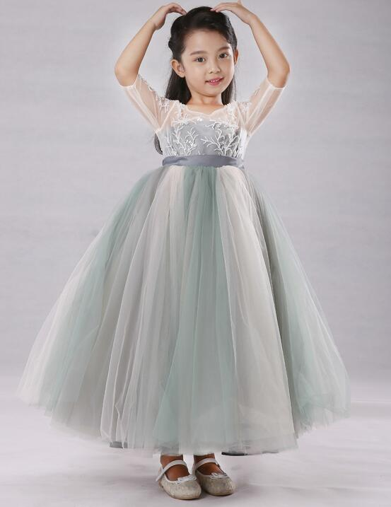 Girls Ball Gown Costumes Dresses Kids Princess Dresses Girls white first holy lace communion Dance dress Vestidos PrimeraGirls Ball Gown Costumes Dresses Kids Princess Dresses Girls white first holy lace communion Dance dress Vestidos Primera