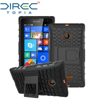2017 Real Promotion Directopia Dual Layer Hybrid Defender Kickstand Armor Protective Cover Phone For Microsoft Lumia 435 With