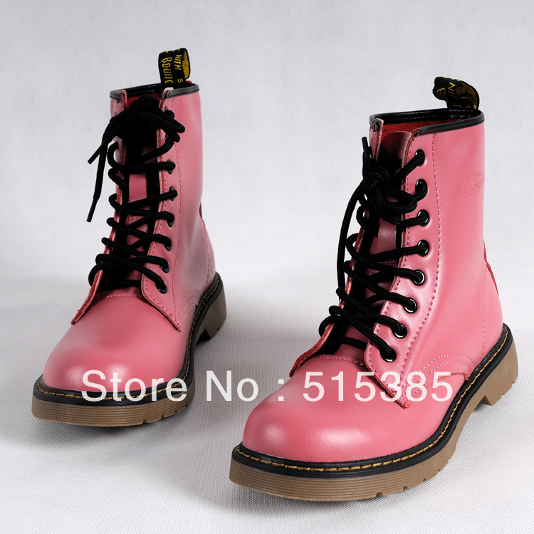 Aliexpress.com : Buy Womens All Colors High Top Combat Boots US ...