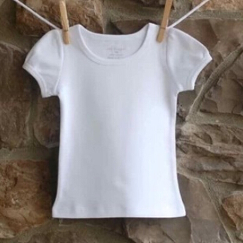 Online buy wholesale blank baby shirts from china blank for Kids t shirts in bulk